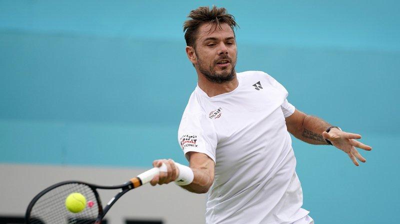 Tennis - Tournoi du Queen's: Stan Wawrinka réussit son retour sur gazon