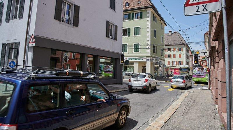 La Chaux-de-Fonds: le contournement est va transformer le centre-ville