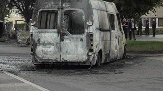 Mont-sur-Lausanne: attaque d'un fourgon de transfert de fonds et véhicules incendiés