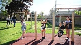 Dombresson: la fondation Borel dévoile sa place de jeux