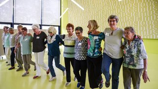 Neuchâtel: à la découverte de la rythmique pour seniors