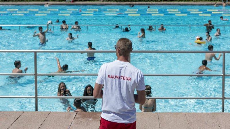 La Chaux-de-Fonds: record d'affluence à la piscine des Mélèzes