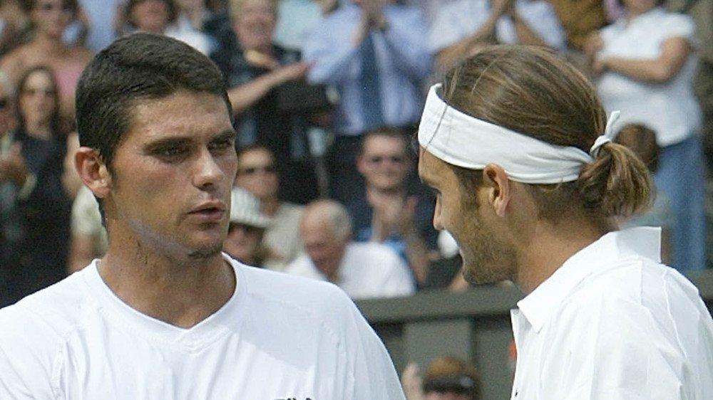 Mark Philippoussis a été la première victime de Federer en finale d'un Grand Chelem.