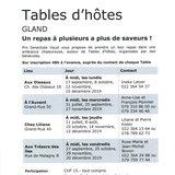 """Table d'hôtes """"Aux Trésors des îles"""""""