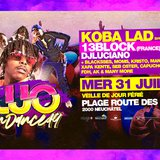 Fluo openair - Koba Lad - 13 block + 20dj's