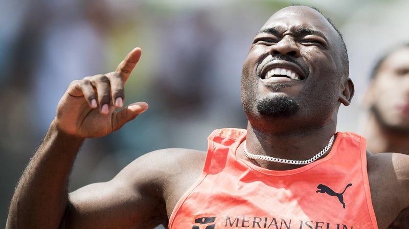 Athlétisme: record de Suisse du 100 m et 200 m pour Alex Wilson au Résisprint