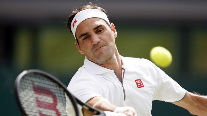 Tennis - Wimbledon: Federer se qualifie pour le deuxième tour en égarant un set