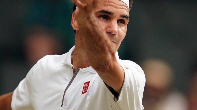 Roger Federer a battu Lucas Pouille à Wimbledon.
