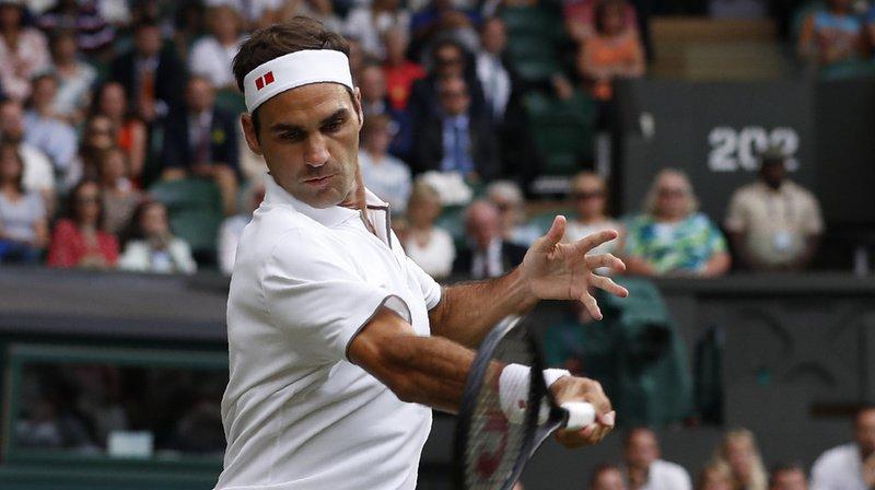 Tennis - Wimbledon: Federer bat rapidement Berrettini et se qualifie pour les quarts de finale