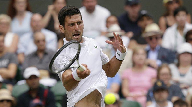 Tennis - Wimbledon: Djokovic domine Goffin en trois sets et atteint les demi-finales