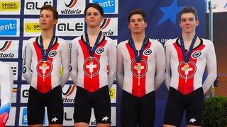 Médaille de bronze pour Valère Thiébaud et la Suisse aux Européens