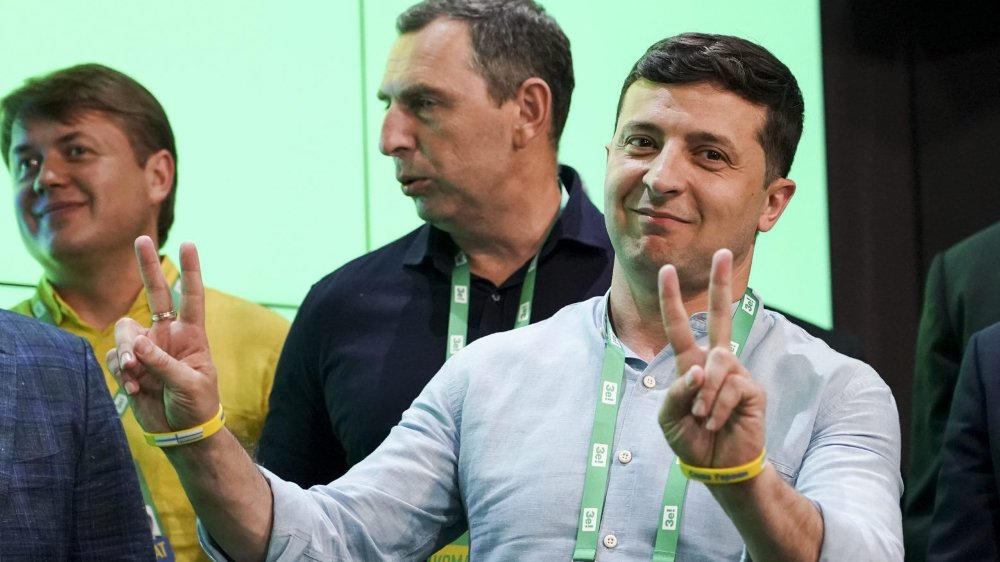 Volodymyr Zelensky devrait consolider son pouvoir.