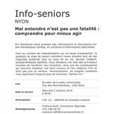 Info-seniors à Nyon