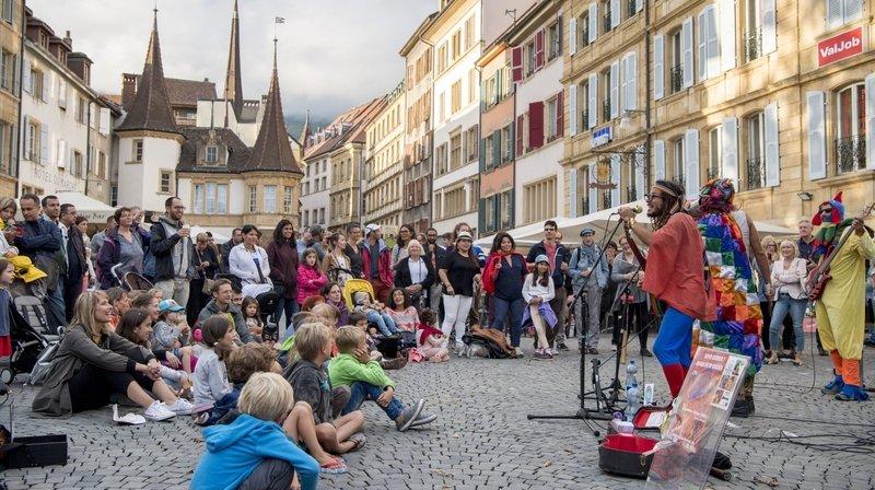 Le public a concocté le programme du Buskers Festival de Neuchâtel