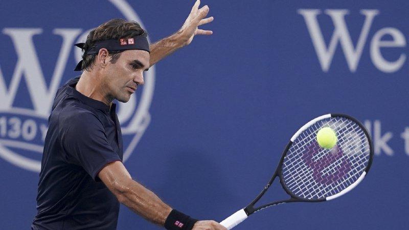 Tennis: Roger Federer passe le 2e tour du Masters 1000 de Cincinnati