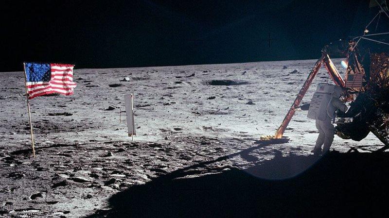 Le 21 juillet 1969, Neil Armstrong devient le premier homme à poser un pied sur la Lune. (Archives)