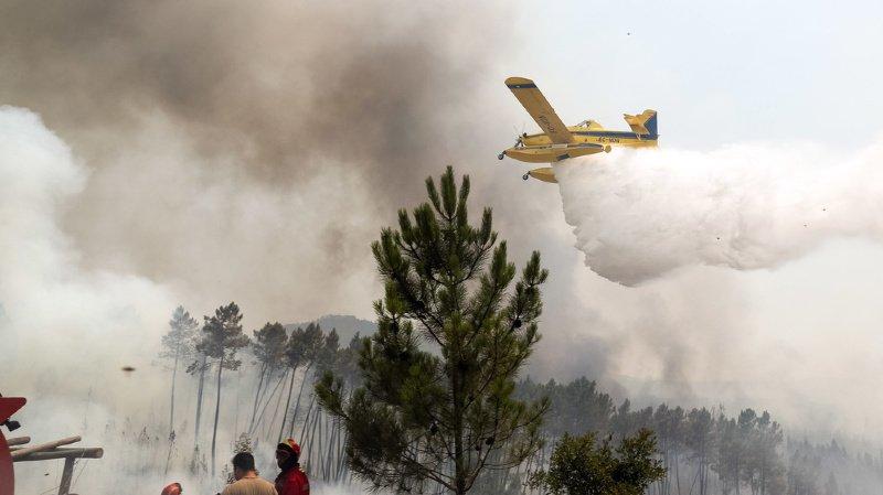 Les flammes ont fait vingt blessés dans la région de Castelo Branco, huit pompiers et douze civils, selon un bilan du ministère de l'Intérieur.