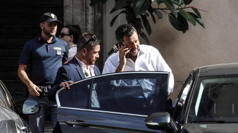 Italie: chef de la droite populiste, Matteo Salvini, demande des élections anticipées «rapidement»