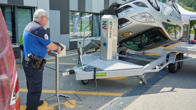 Boudevilliers: une voiture-tonneaux pour penser à la ceinture de sécurité