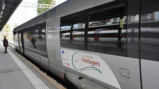 Entre Besançon et La Chaux-de-Fonds, les cars ont remplacé les trains