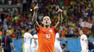 Football: à 35 ans, le joueur néerlandais Wesley Sneijder met un terme à sa carrière