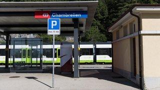 Le trafic ferroviaire était perturbé ce mardi matin entre Neuchâtel et La Chaux-de-Fonds