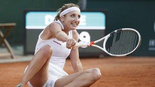 Tennis: Timea Bacsinszky souffre d'une tendinite et déclare forfait pour le tournoi de Palerme