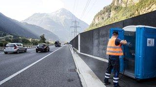 Tunnel du Gothard: des toilettes sur l'autoroute pour soulager les prisonniers des bouchons