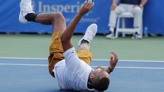 Tennis: 113'000 dollars d'amende pour l'Australien Kyrgios