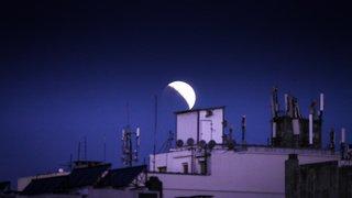 Eclipse partielle de la Lune