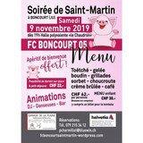 Soirée de Saint-Martin à Boncourt