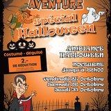 Halloween au Labyrinthe Aventure