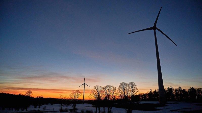 Éoliennes au Crêt-Meuron: les oppositions interrogent