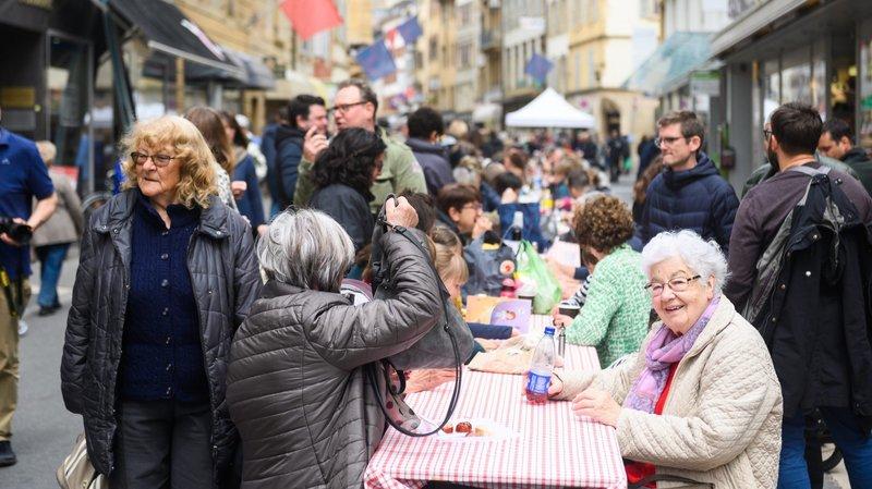 Neuchâtel: Ding Dong, la fin sonne pour l'anniversaire des 40 ans de la zone piétonne