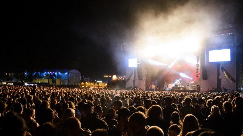 Festival: 110'000 personnes au 34e Gampel Open Air