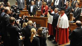 En 2009, Didier Burkhalter entre au Conseil fédéral