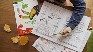 Le canton de Neuchâtel veut réduire la quantité de devoirs à domicile des écoliers
