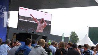 Fête fédérale de lutte suisse et de jeux alpestres à Zoug: premier jour de compétition