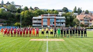 16ème de finale – Coupe Suisse : FC Béroche-Gorgier – Lancy FC