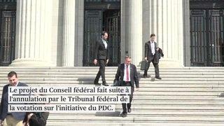 Le Conseil fédéral doit revoir son projet d'imposition des couples