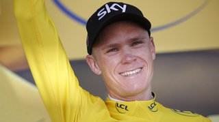 Le cycliste Chris Froome «content d'être en vie» après sa terrible chute