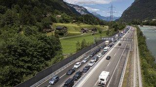 Accident de la route: tunnel fermé dans les deux sens au Gothard