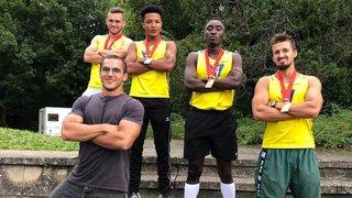 Ils ont battu le record neuchâtelois du 4 x 100 m
