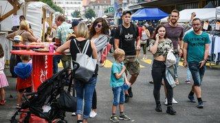 La Chaux-de-Fonds : la Braderie a battu son plein jusqu'à dimanche