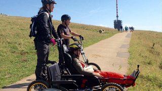 Nods: dévaler le Chasseral malgré son handicap