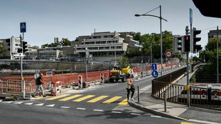 Neuchâtel: la circulation sur le pont du Mail restera en sens unique jusqu'à mi-novembre