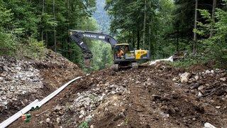La Chaux-de-Fonds: l'eau potable arrivera par des canalisations toutes neuves