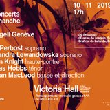 Concerts du dimanche : Gli Angeli Genève