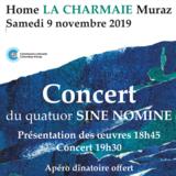 """Concert quatuor à cordes """" Sine Nomine"""""""