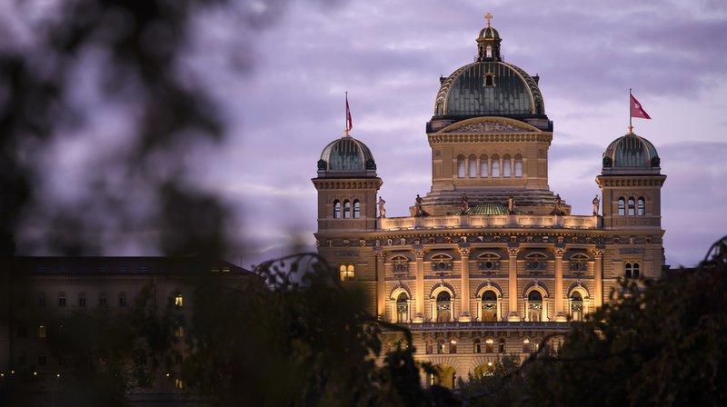 L'événement a eu lieu au Palais fédéral au mois de septembre.